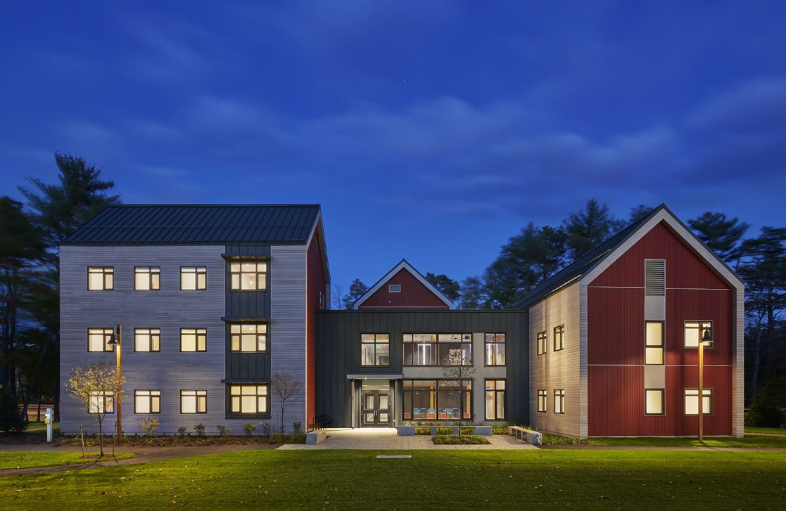 Harpswell - Exterior at Night