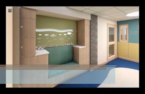 New St Mary's Inpatient Child & Adolescent Behavioral Health Unit - Virtual Walk Through