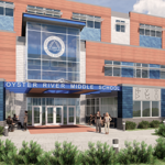 A rendering of Oyster River Cooperative School District's new Oyster River Middle School